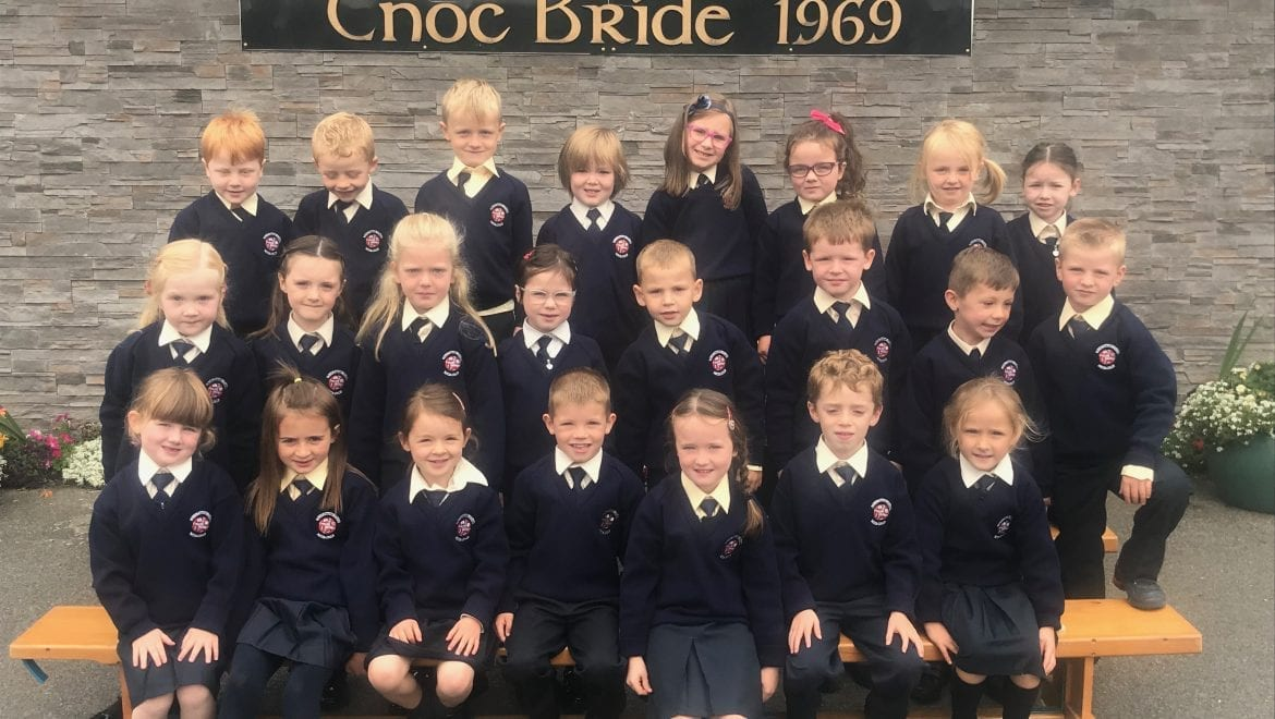 First Day in Senior Infants