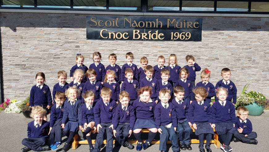 Our new Junior Infants!