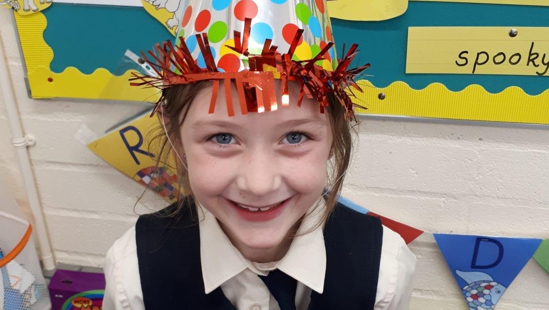 Happy 8th Birthday Niamh