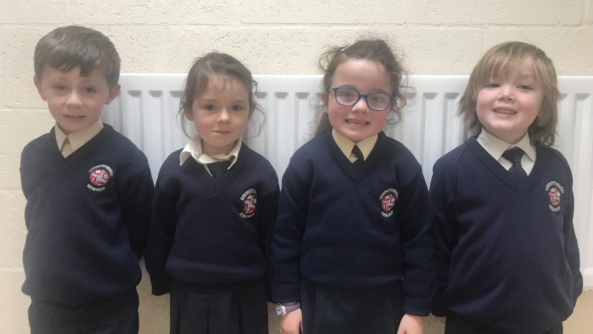 September Nominees for Person & Student of the Month in Senior Infants
