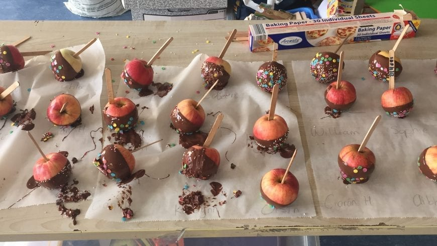 Chocolate Apples