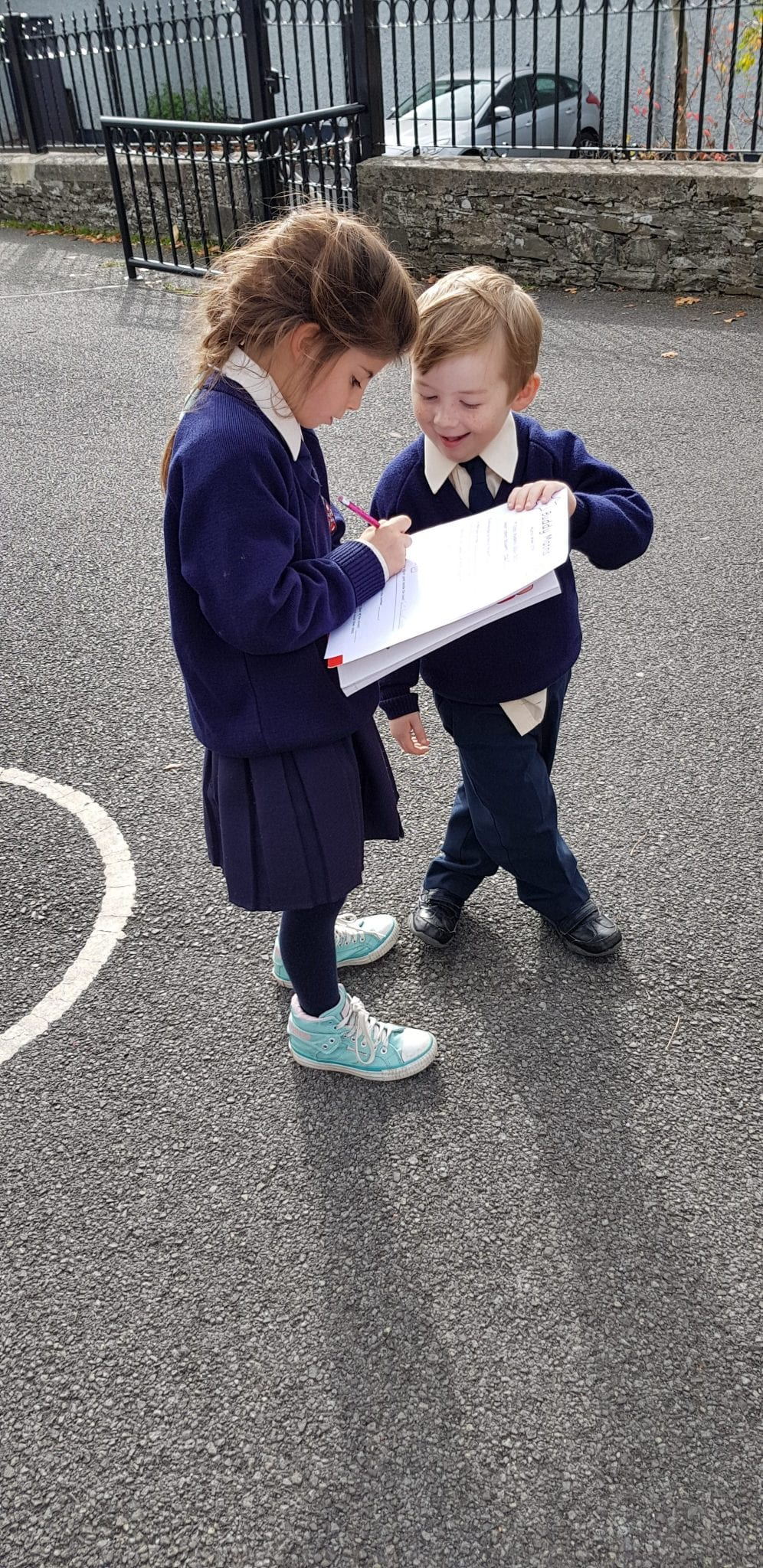 Maths Week buddy work for Junior Infants and 3rd class