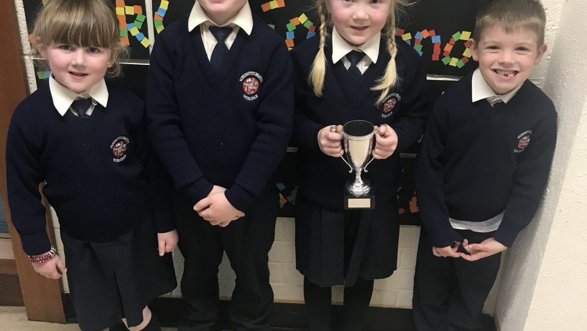 October Nominees for Person & Student of the Month In Senior Infants