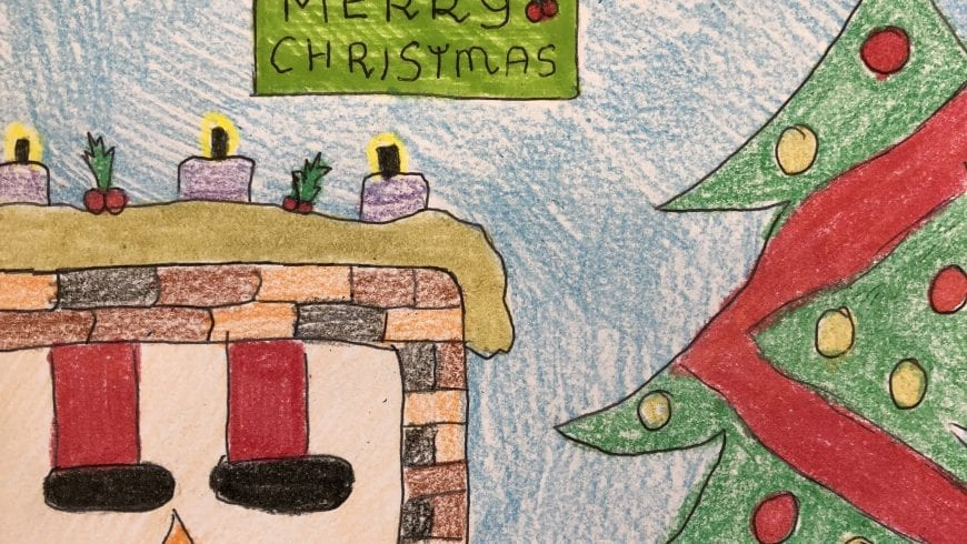 Our Christmas cards are designed and looking very professional!