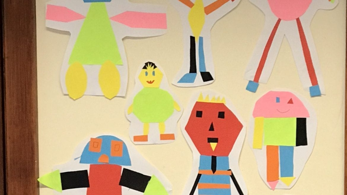 2D Shape Monsters in 4th Class!