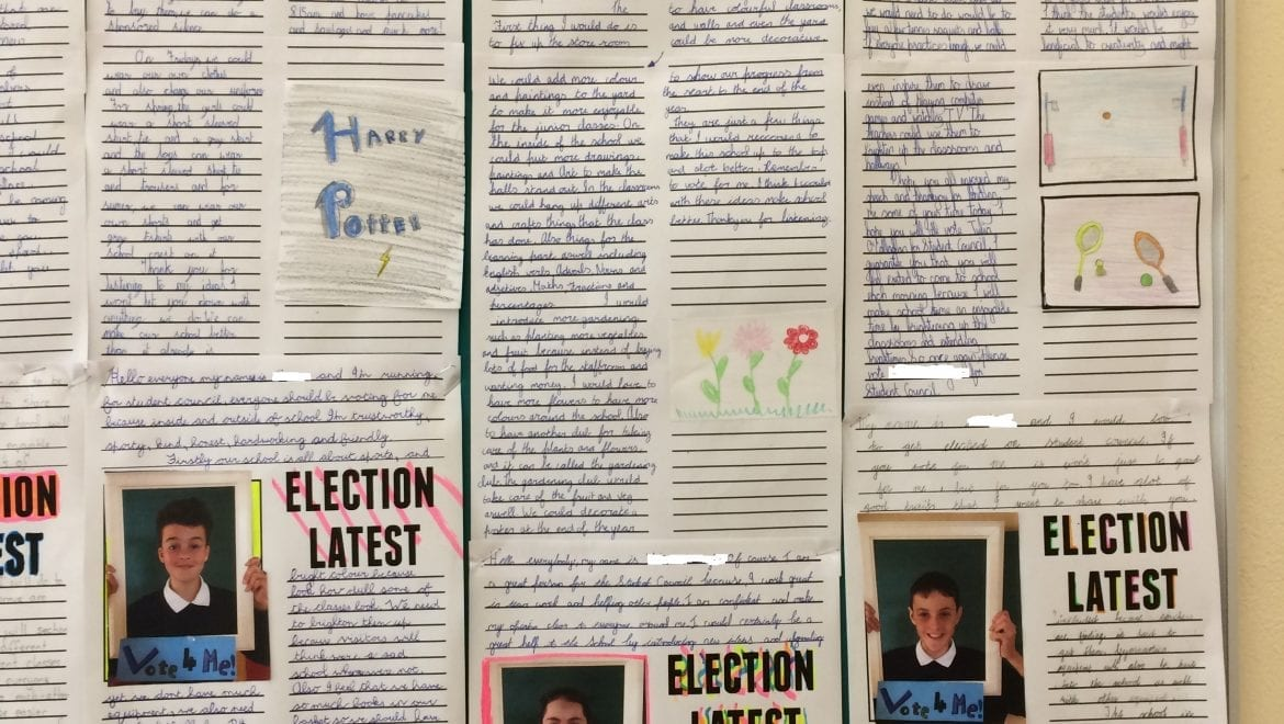 A very exciting campaign took place for the two student council seats. Congratulations to the two victors who were successful by a vote.