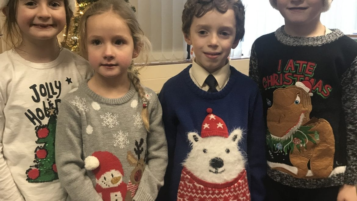 December Nominees for Person & Student of the Month In Senior Infants