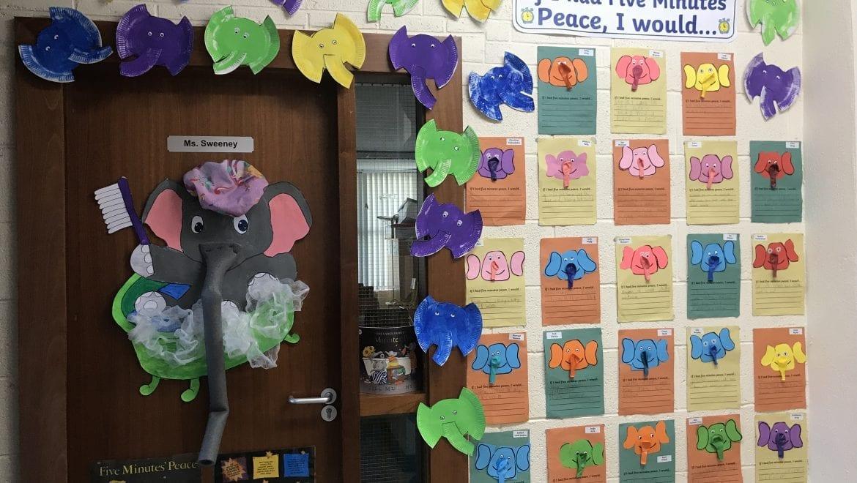 Our Door Display
