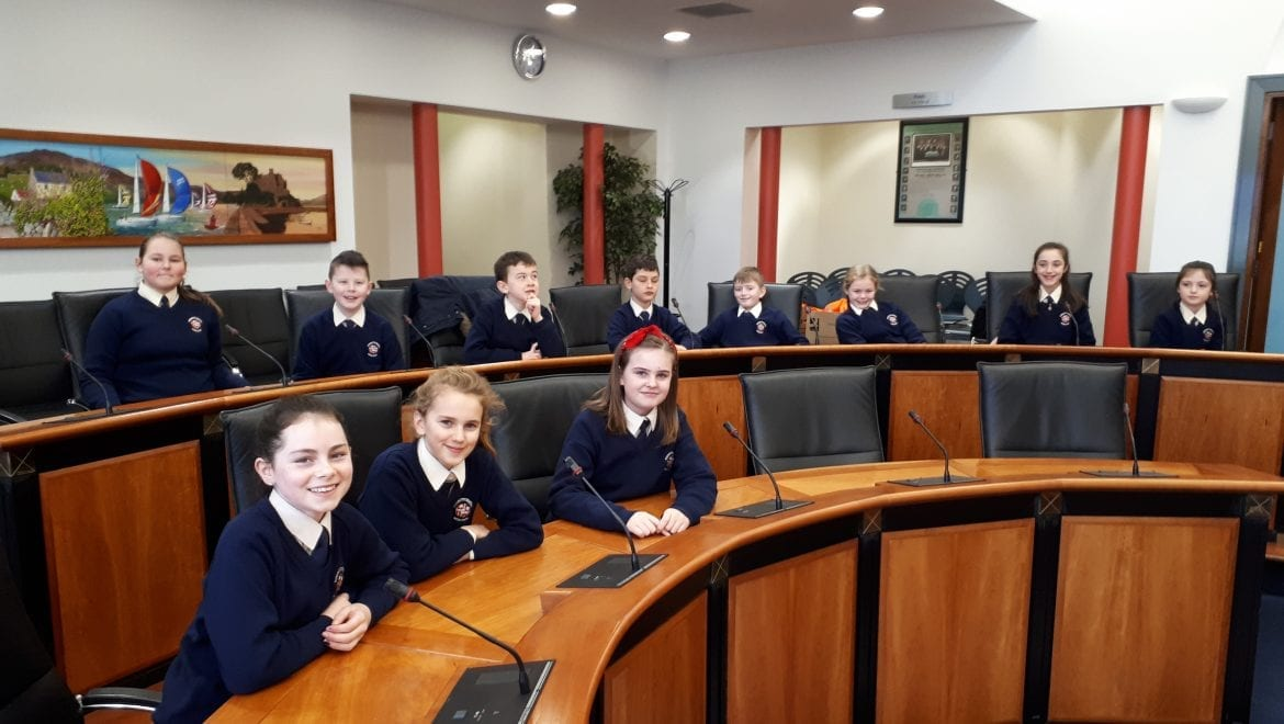 Visit to Louth County Council