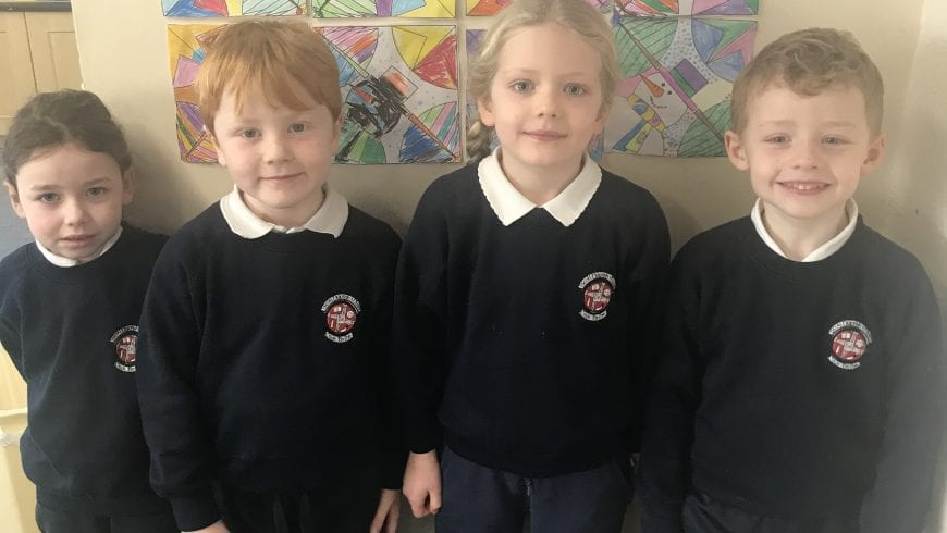 November Nominees for Person & Student of the Month In Senior Infants