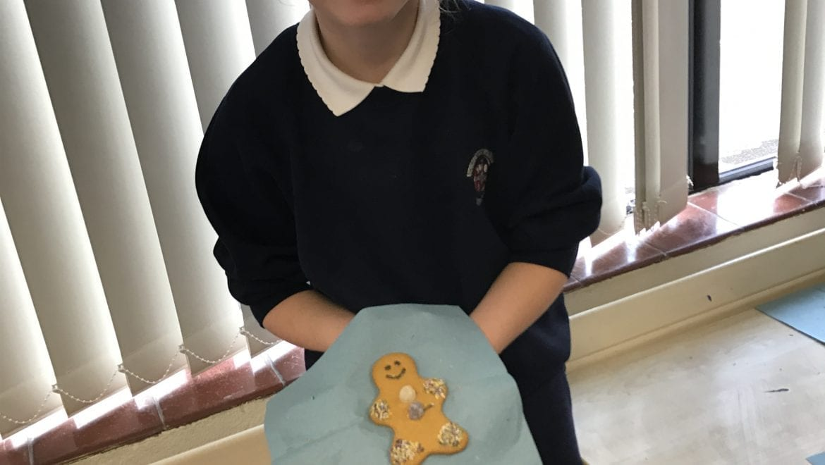 Gingerbread men fun!