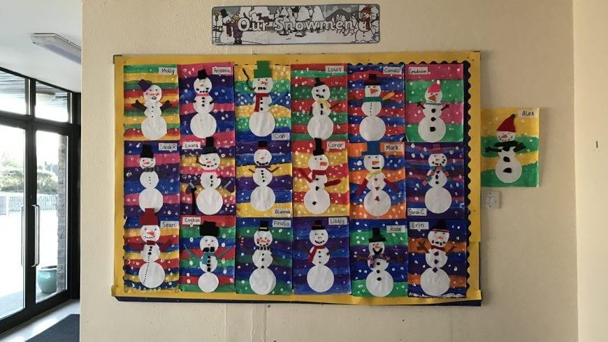 Our Snowmen!
