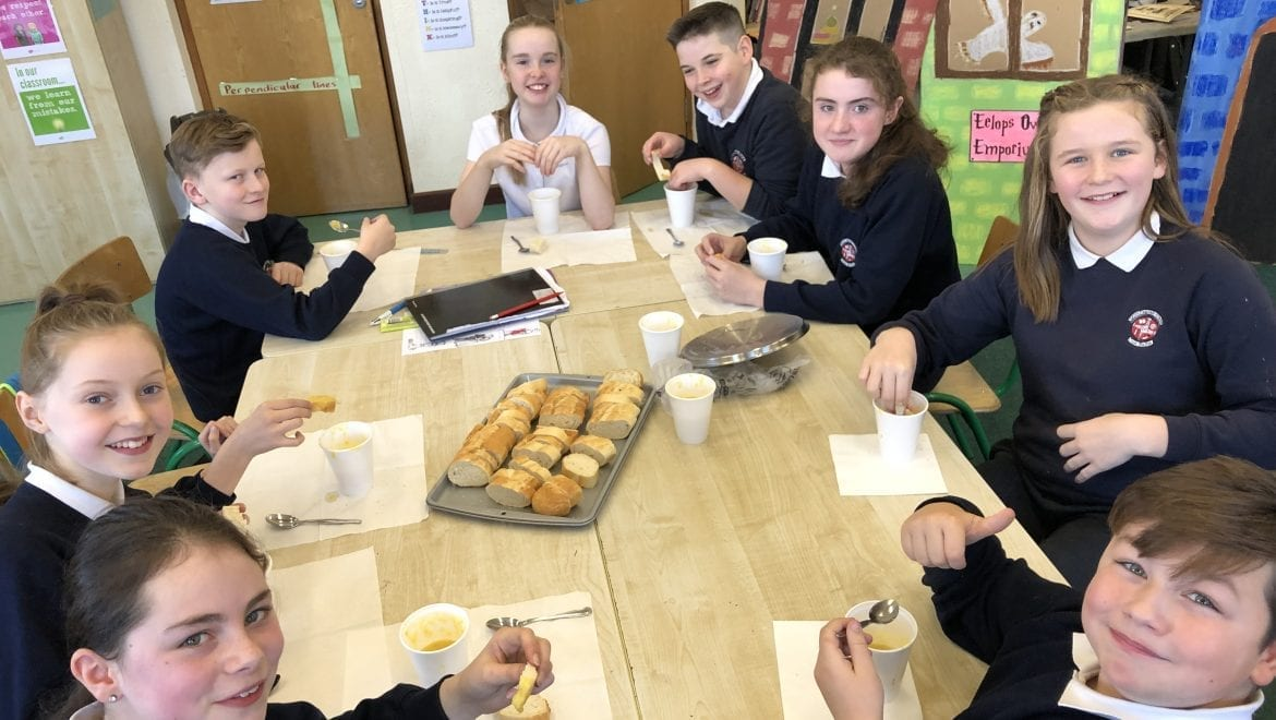 Soup Making – one way to get your daily intake of veg!