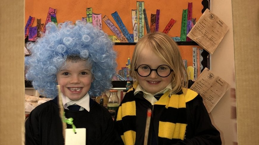 The Harry Potter Buddy Reading Experience!