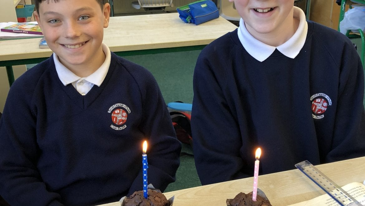 Happy February birthday to Eoin and Aaron!