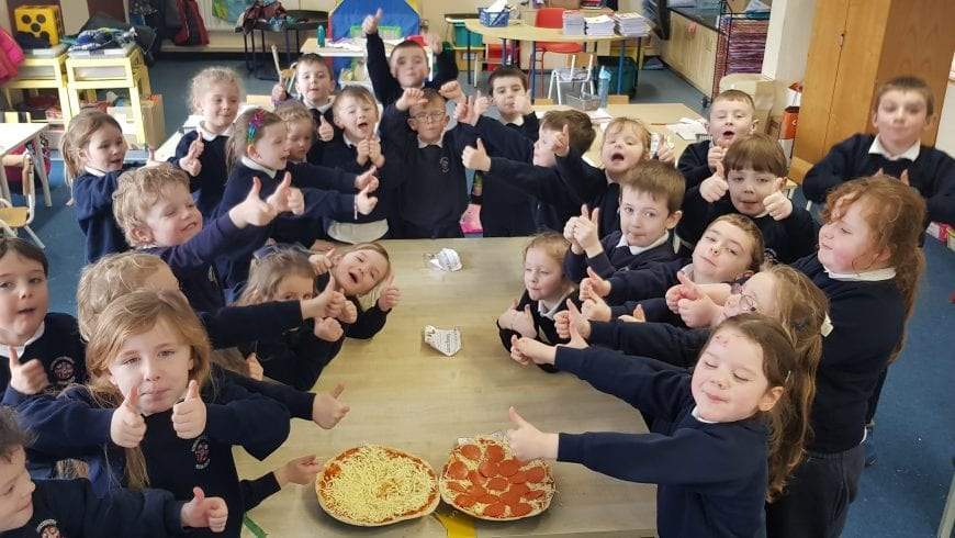 February in  Junior Infants