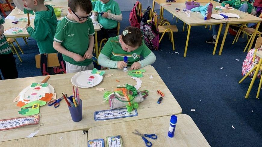 St Patrick's Day artwork