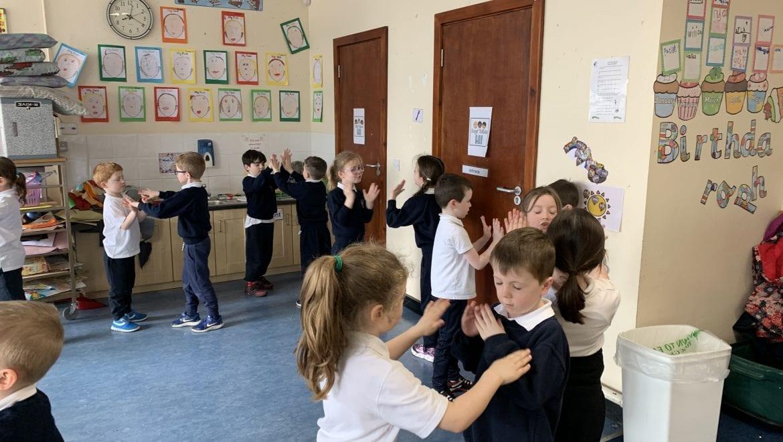 Seachtain na Gaeilge Dancing