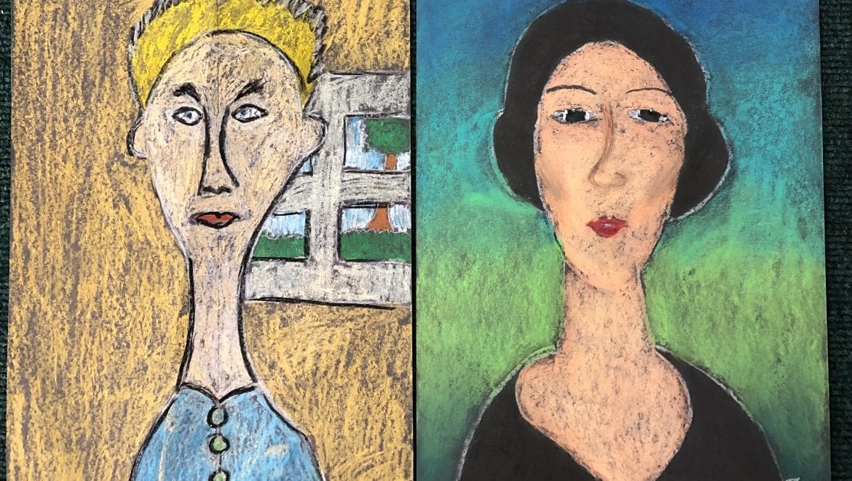 Italian artist Modigliana