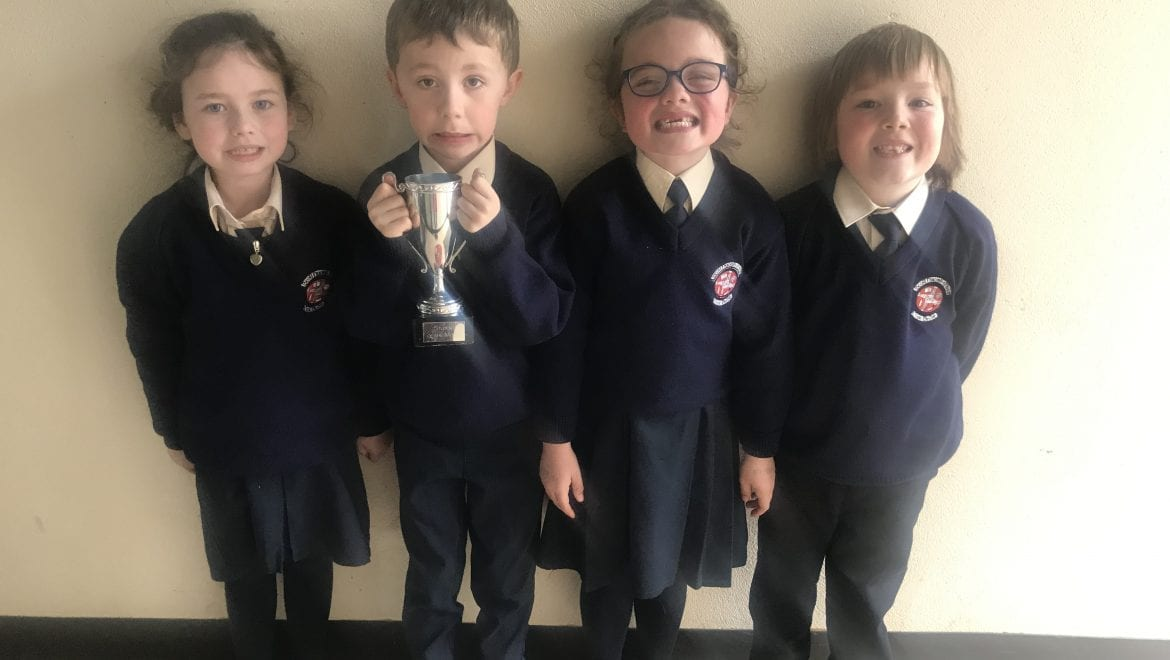 Person and Student of the Month Nominees In Senior Infants