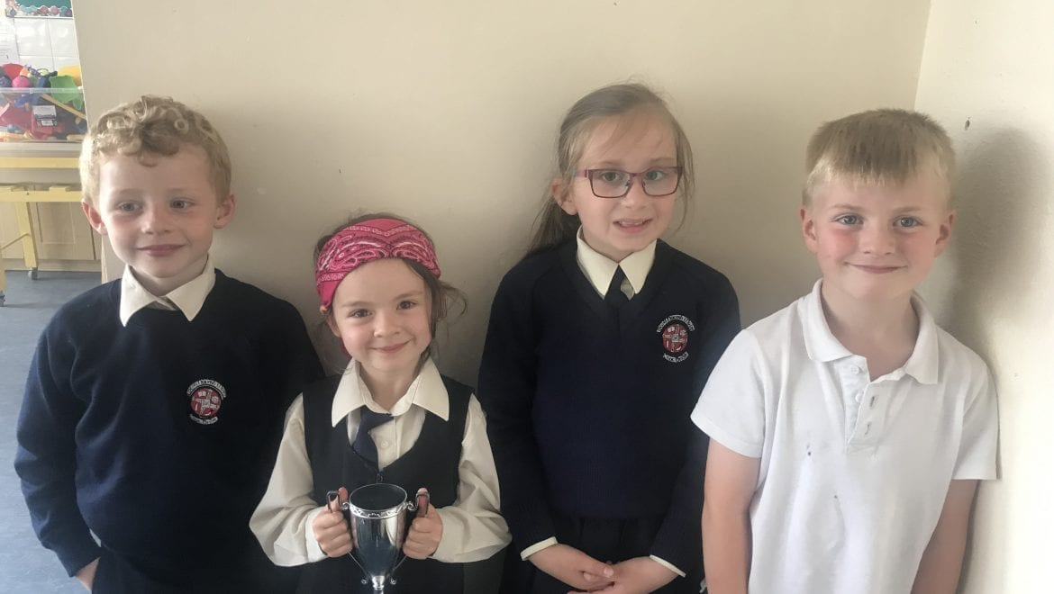 June Person and Student of the Month Nominees in Senior Infants