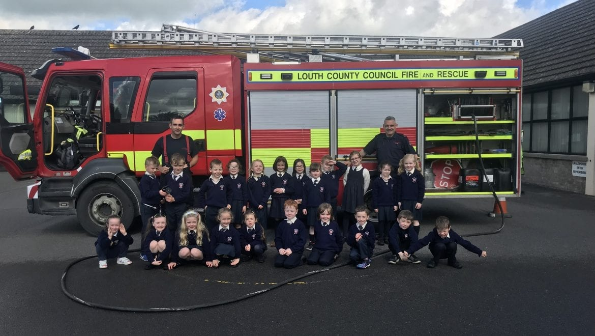 A Visit from Firefighters