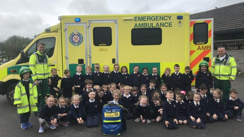 Visit from Paramedics